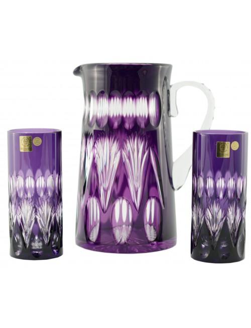Zestaw Zora, kolor fioletowy, objętość 1450 ml + 2x350 ml