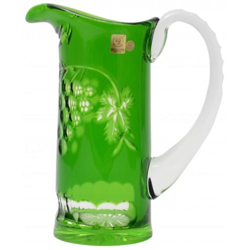 Dzbanek Winorośl, kolor zielony, objętość 900 ml