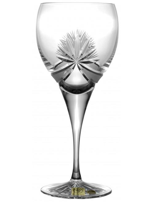 Kieliszek do wina Girlanda, szkło kryształowe bezbarwne, objętość 340 ml